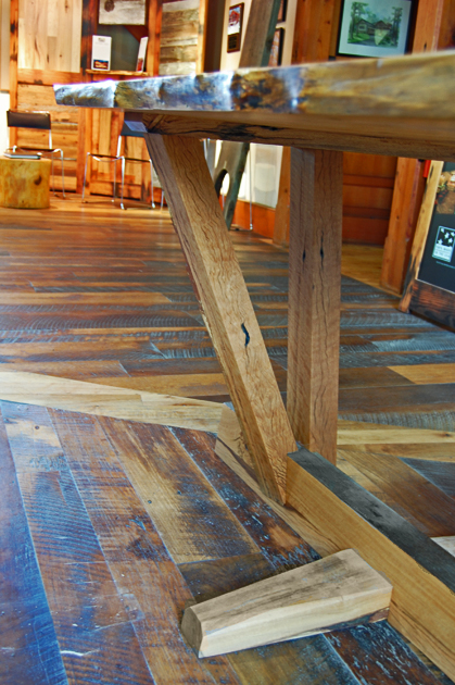 Reclaimed Wood Dining Table - $4,500, located in our East Coast show room.