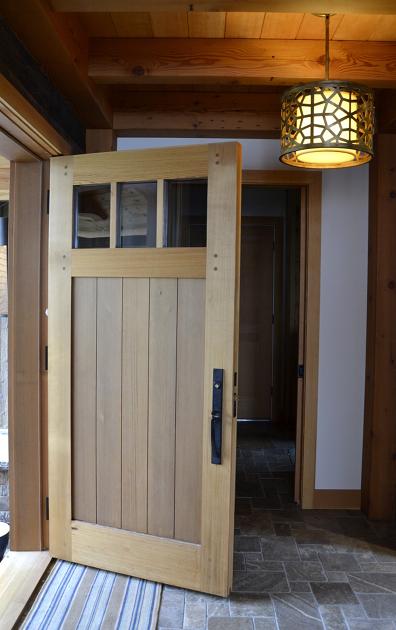 Western Red Cedar Door