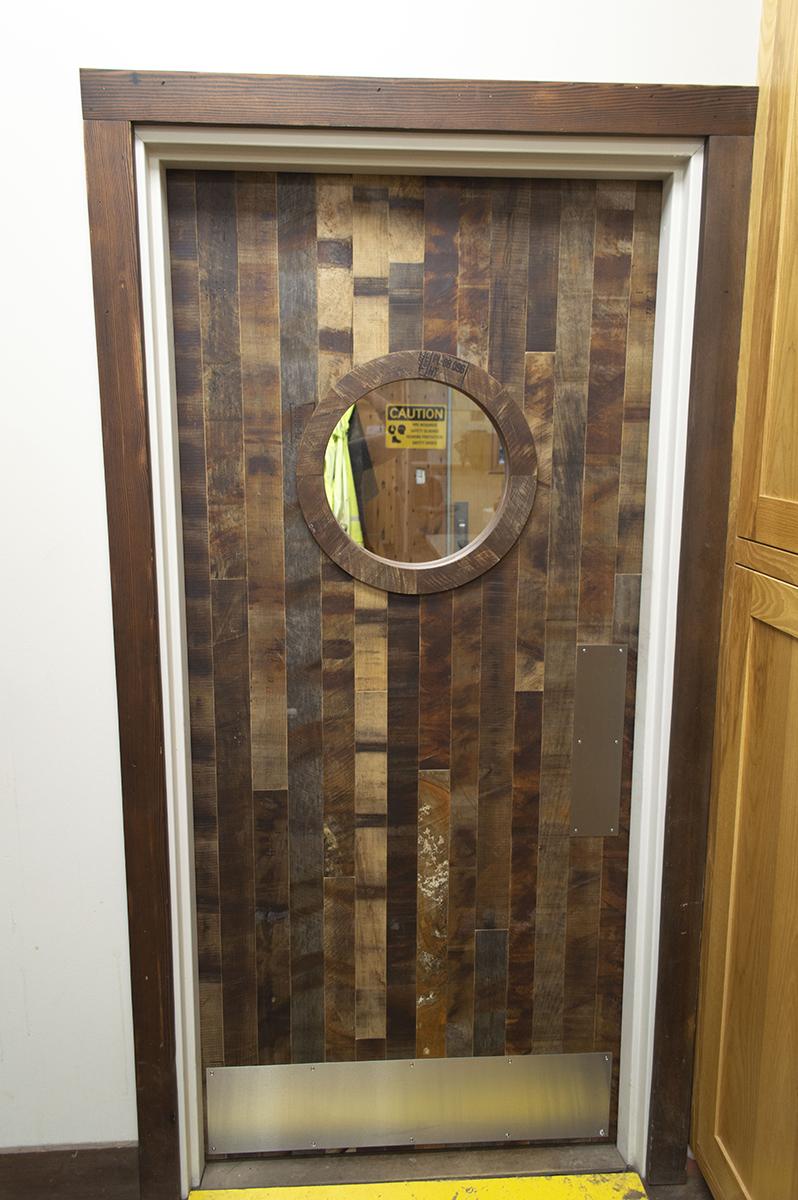 Porthole Interior Swing Door