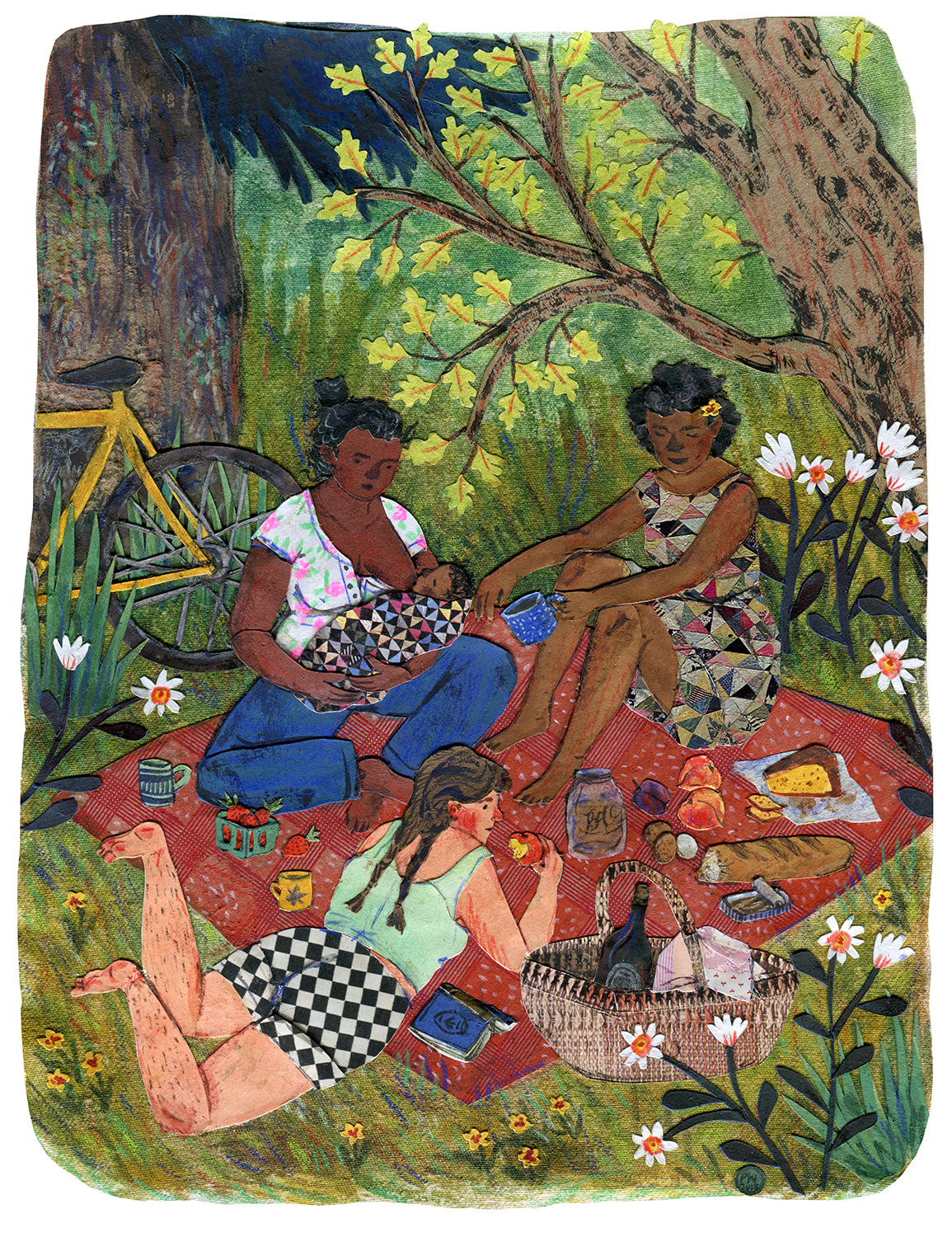 """Picnic""   Phoebe Wahl 2015."
