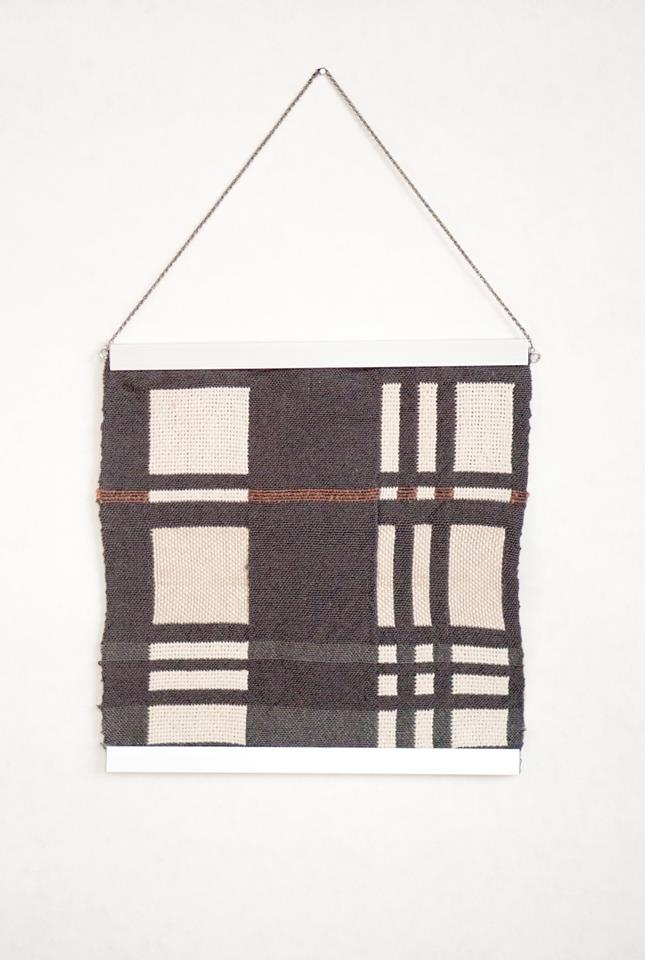 "Hannah Ruth Levi, 'Dream House #2', weaving, 8.5"" x 8.5"""