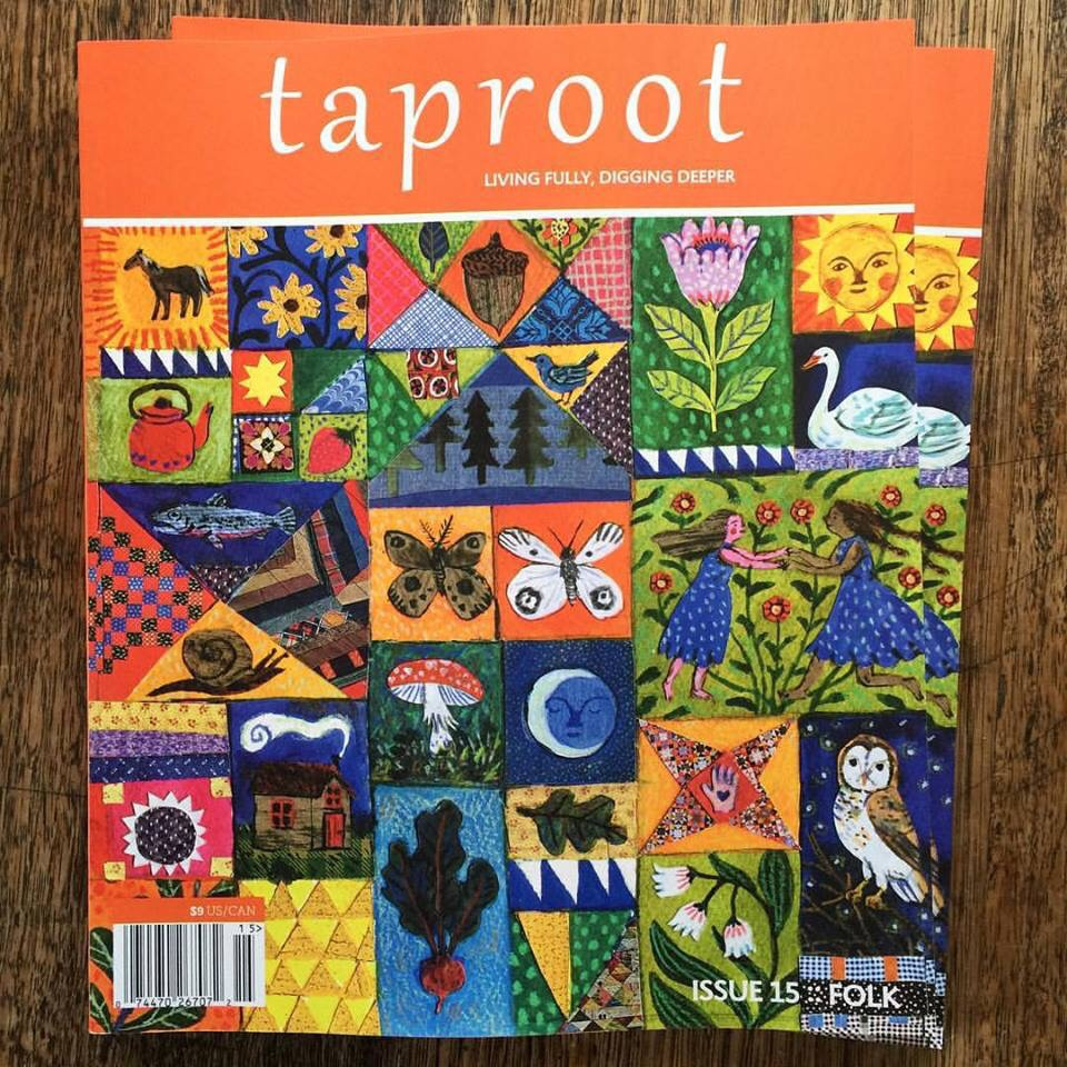 Image courtesy of Taproot stockist  Spiral Garden