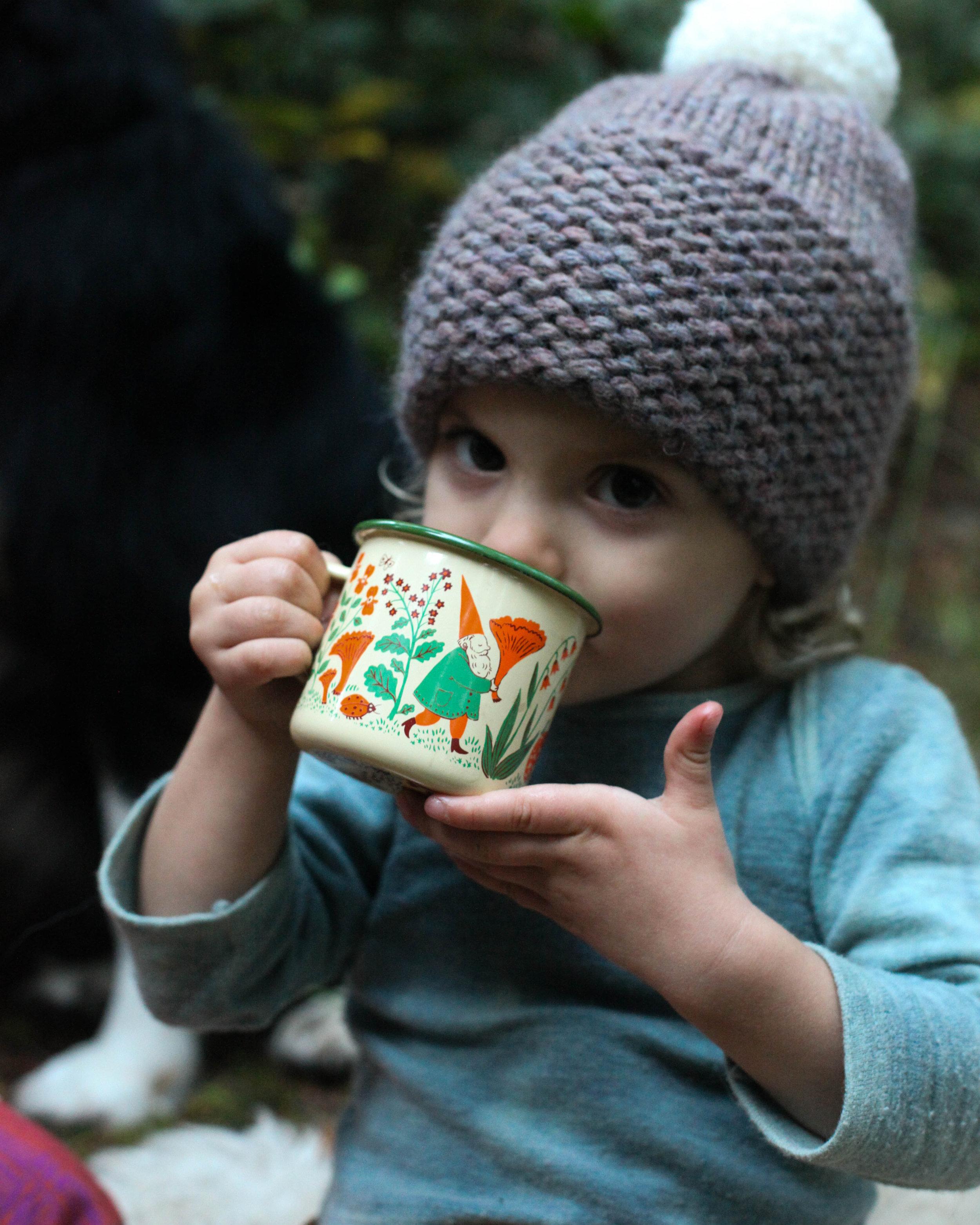 GNOMES enamel mug