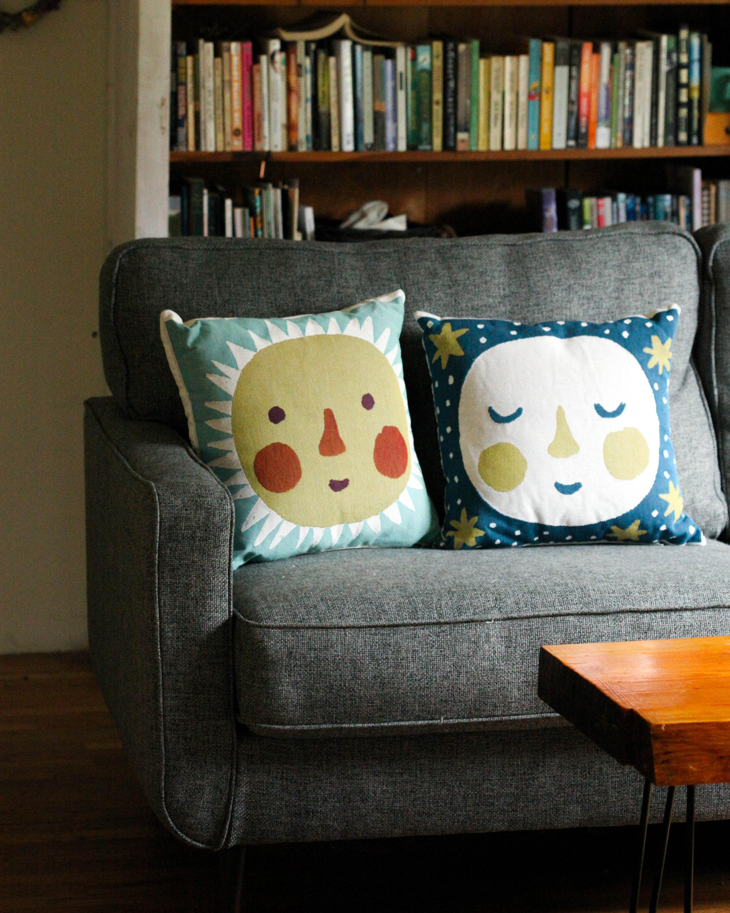 SUN & MOON pillows