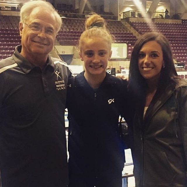 Congratulations to this young lady and her coaches. As a first year level 10 Emma Wissman has qualified for Nationals. We are super proud!!#hardworkpaysoff #seeyouatnationals #GoGTC