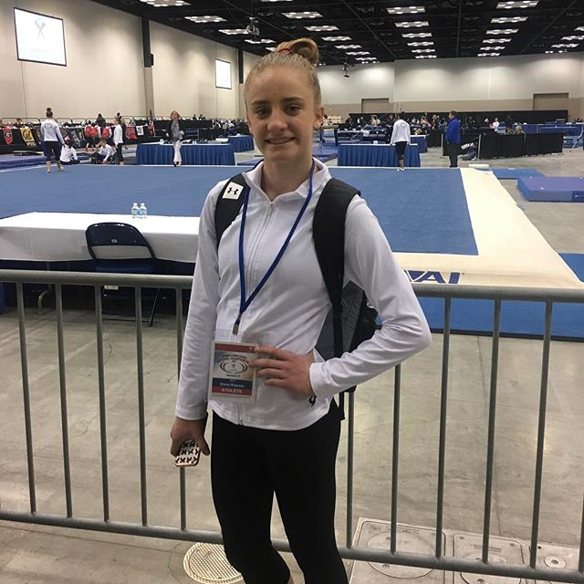 Good luck to Emma Wissman as she competes at Nationals today. So proud of all the hard work she has put in to prepare for this day! 💙