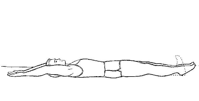 Drawing man stretching - Ultimate Health Personal Training Center - Los Angeles, CA