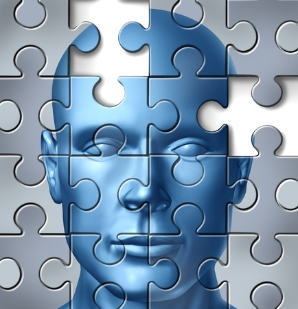 Puzzle of human face - Ultimate Health Personal Training Center - Los Angeles