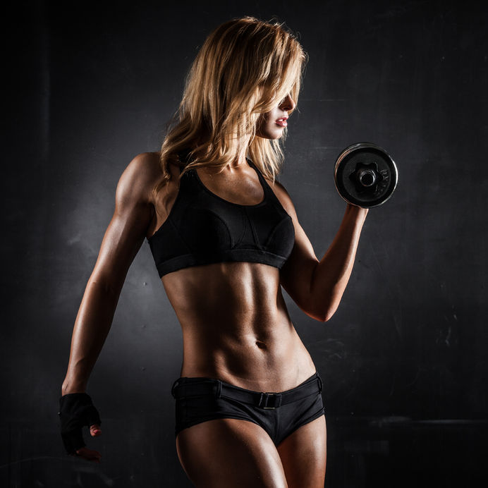 Female with great abs - Ultimate Health Personal Trainer Studio City, CA