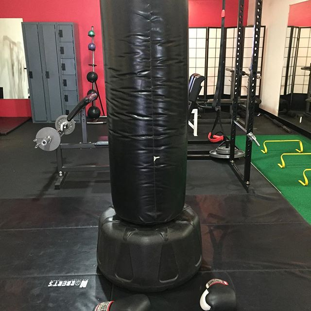Today's nemesis!  Kickboxing is a great full body workout. Strength, cardio, coordination, balance, flexibility, and massive calorie burn...yup...check, check, check.  #cardio #kickboxing #gymlife #goforit #hitsomething #ultimatehlth #ultimatehealthlife #stressrelief #fitinla