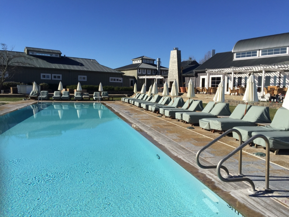 Poolside at Carneros Inn