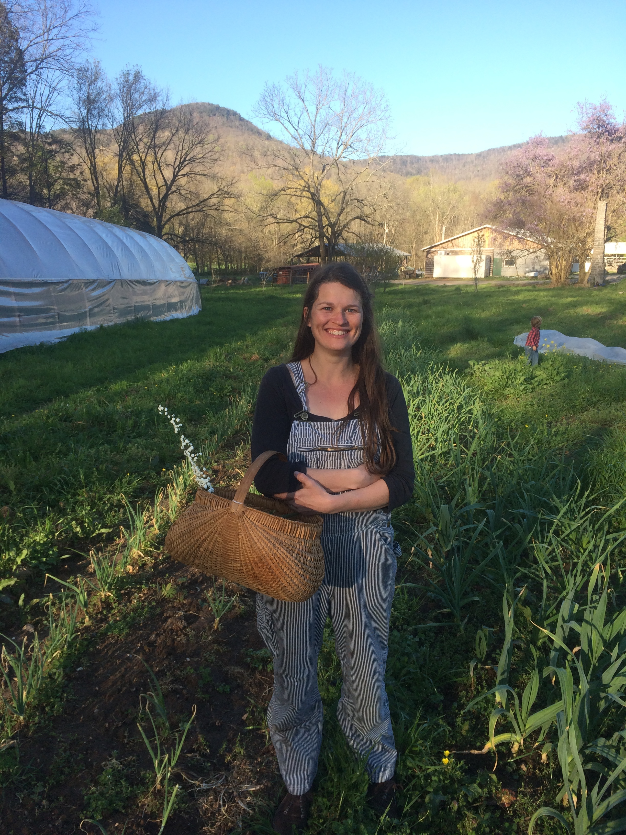 ASHLEY KEENER  is important to every part of the farm, from milking to weeding, communicating with customers, keeping ducks, feeding Kelsey, and chasing their two beautiful boys Oliver and Fletcher.    Ashleyhaleykeener@gmail.com , (423)942-3627