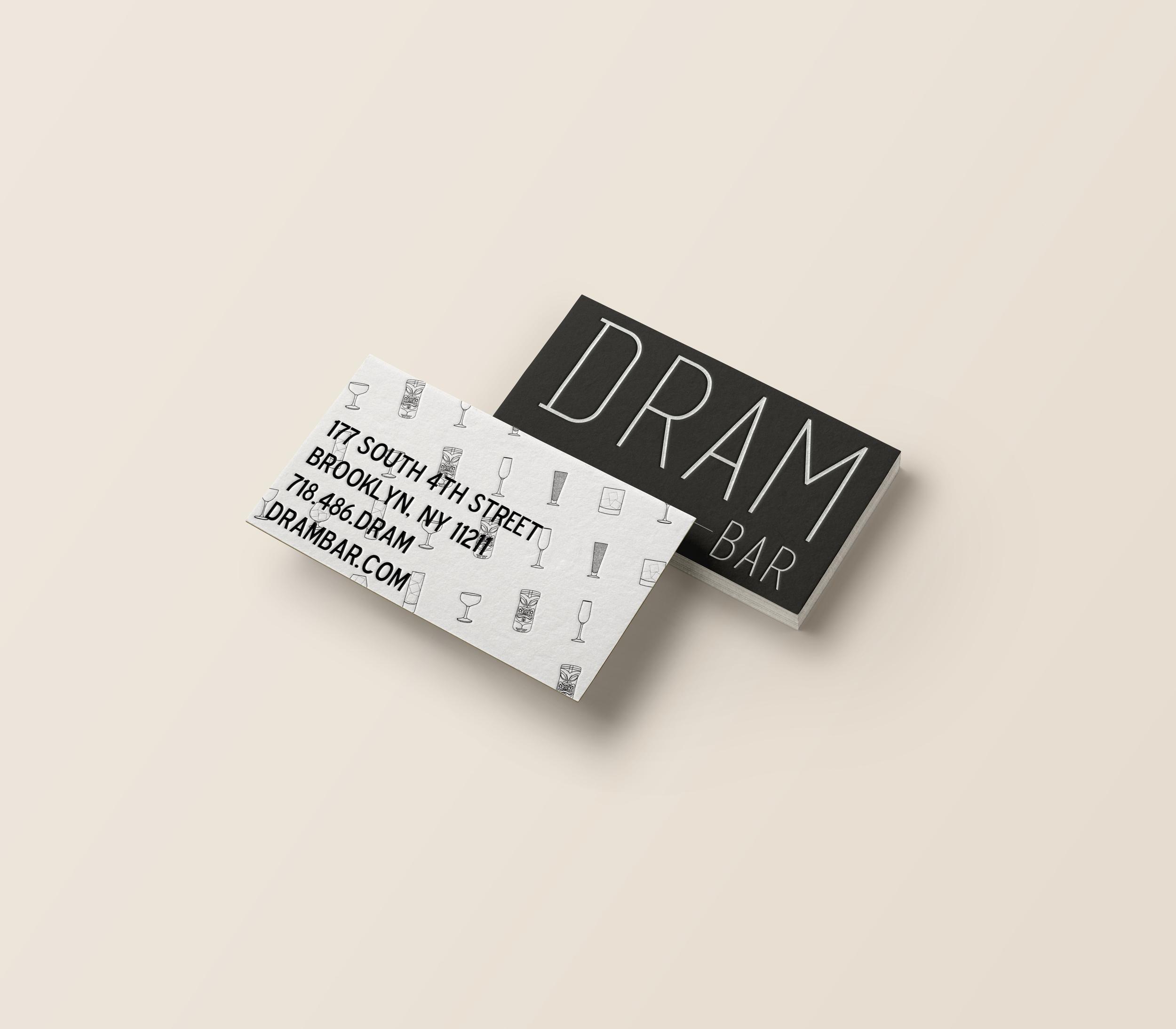 Dram Business Card