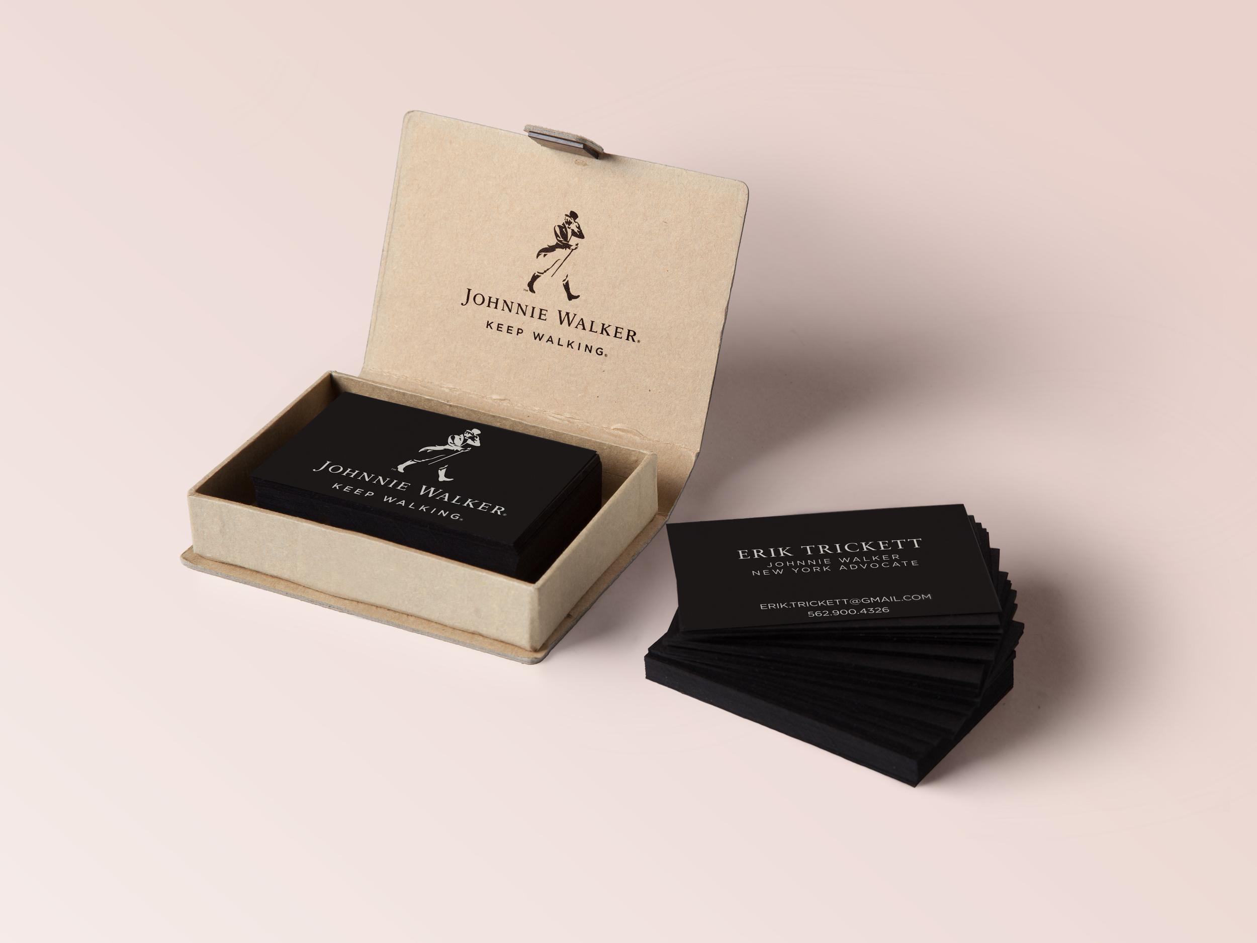 Johnnie Walker Ambassador Cards