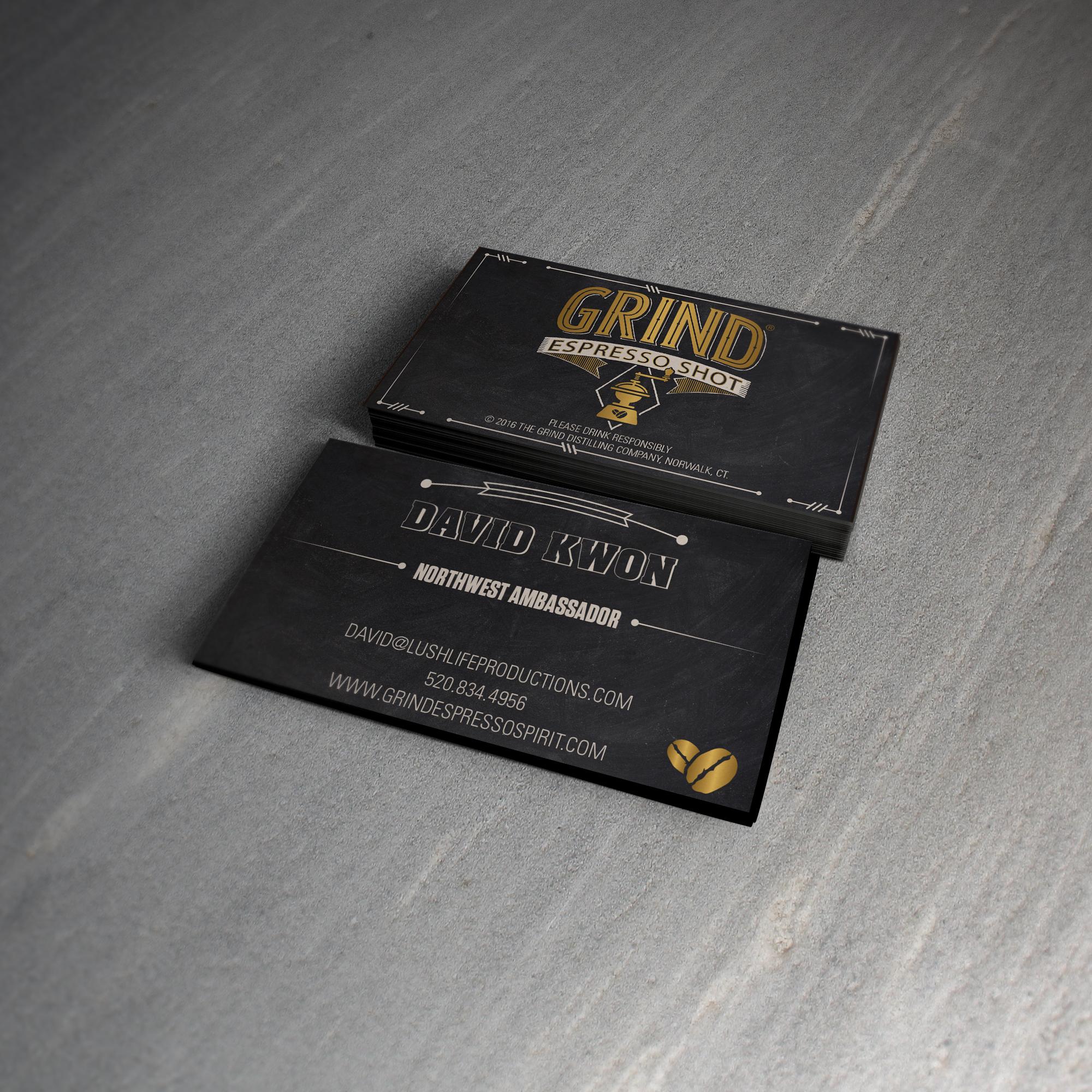 Grind Espresso Ambassador Cards