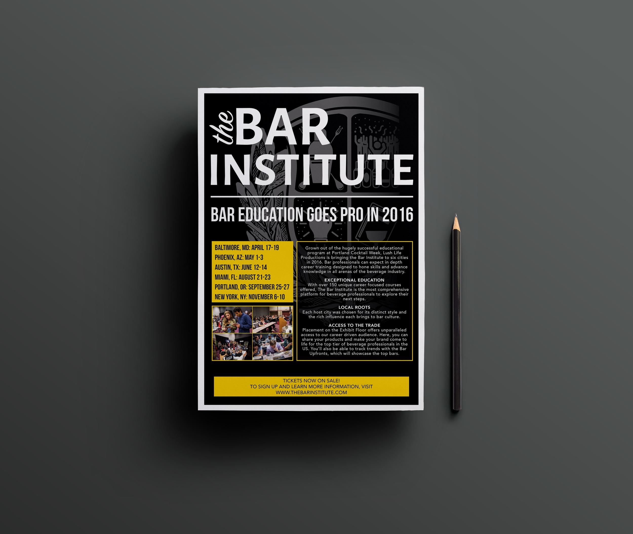 The Bar Institute Magazine Ad