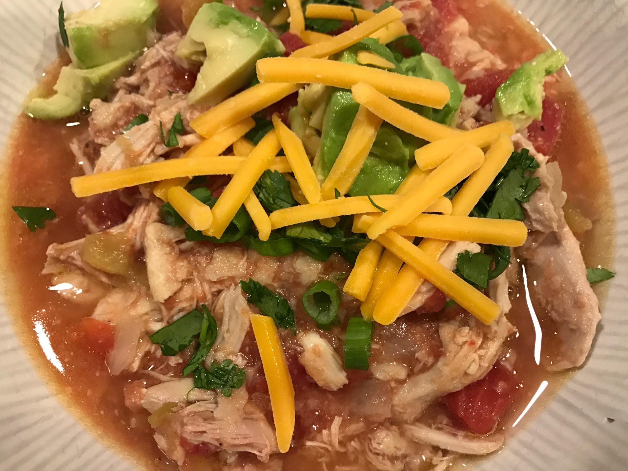 Jewtalian Chicken Tortilla Soup