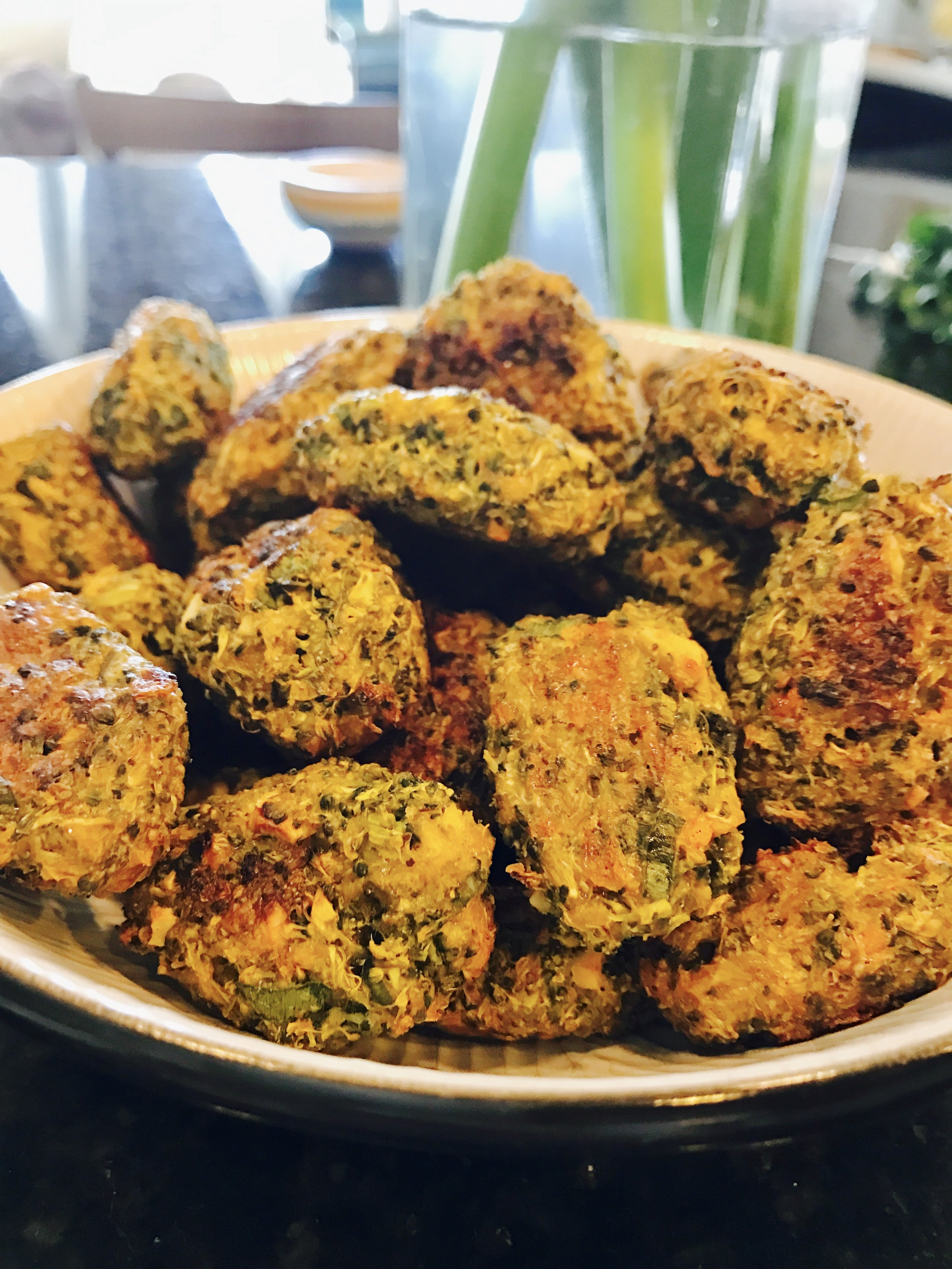 Broccoli Tots Jewtalian Erica Bethe