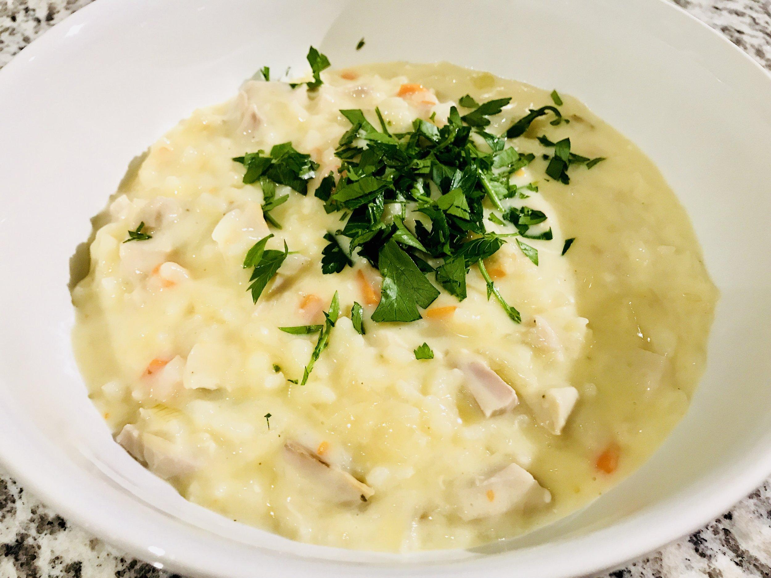 Avgolemono Soup Jewtalian Erica Bethe