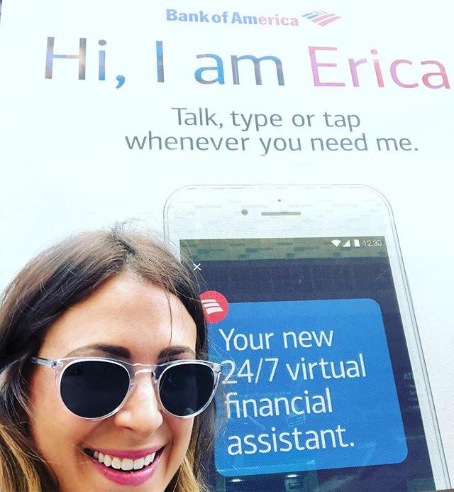 "Like my charming husband says, ""like we need Erica talking even MORE."" #HiIAmErica #i❤️ny #streetsofnewyork"