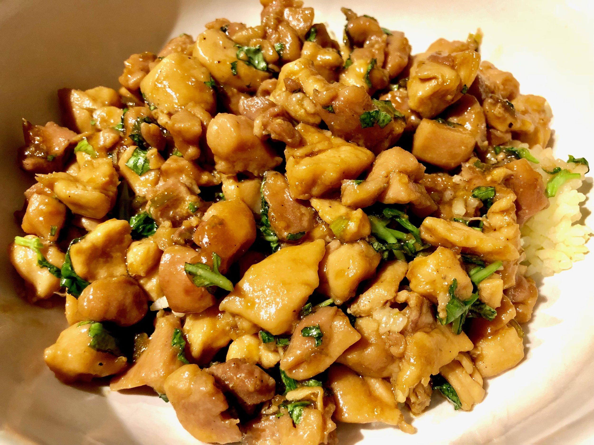 Sweet and Spicy Thai Basil Chicken Erica Bethe Jewtalian