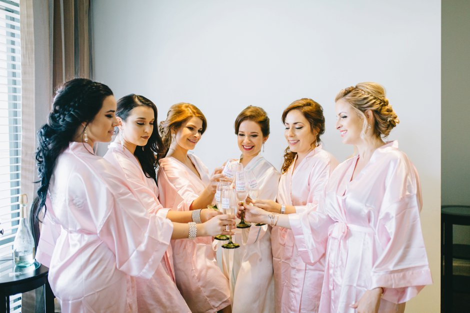 naples-wedding-photographer-getting ready-robes-champagne