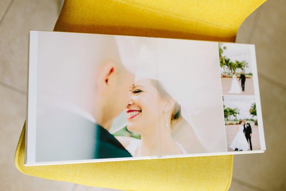 naples wedding photographer album