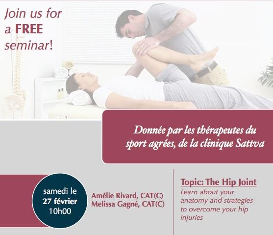 free seminar at sattva