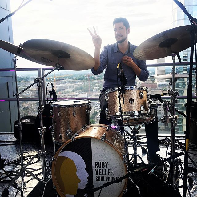 Givin' the drummer some @l27rooftop @zack.albetta wants to see you this eve! #nashville #27live #tonight 8pm
