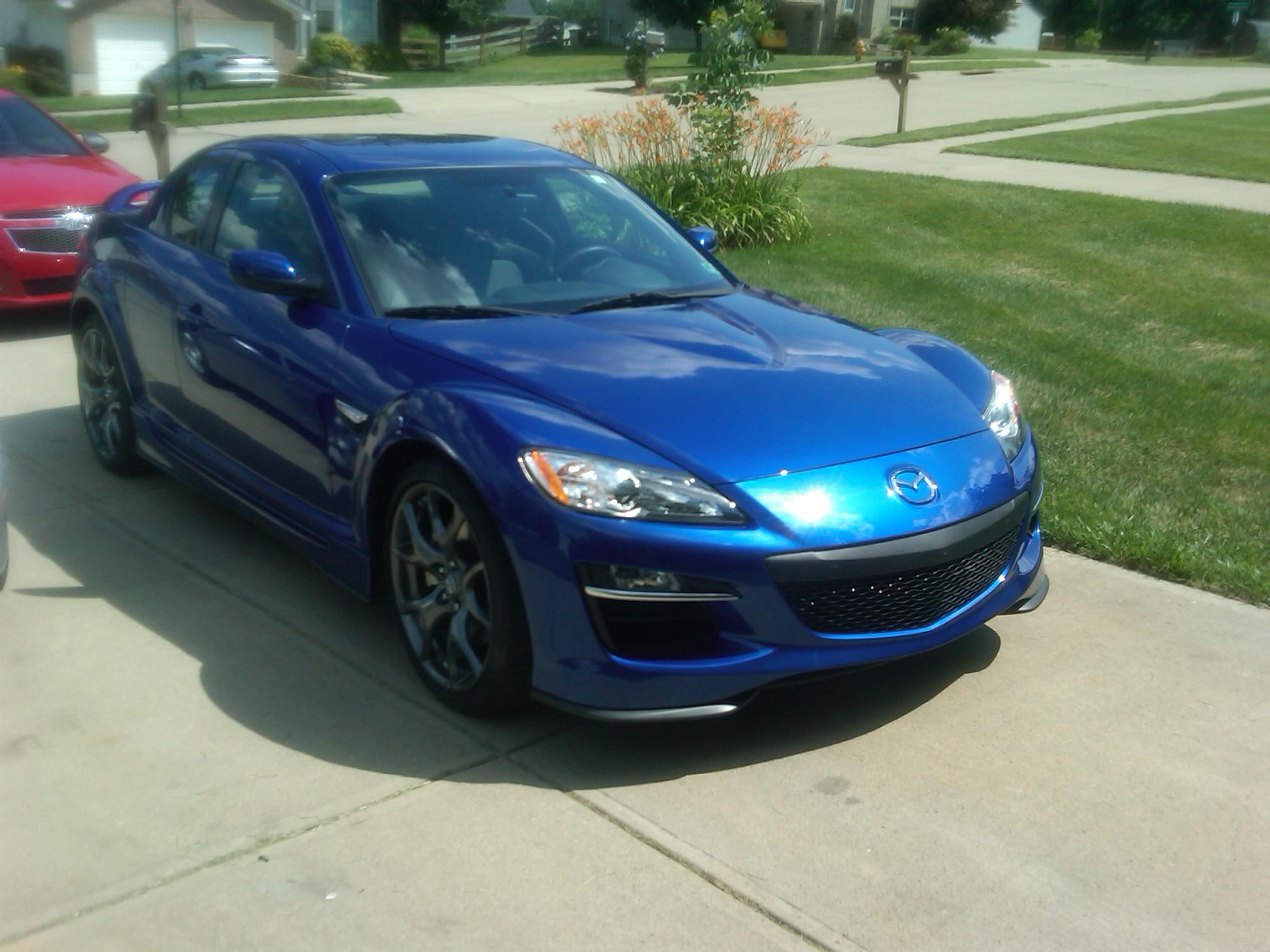 Mazda RX-8 Gets Treated to Paint Protection Film