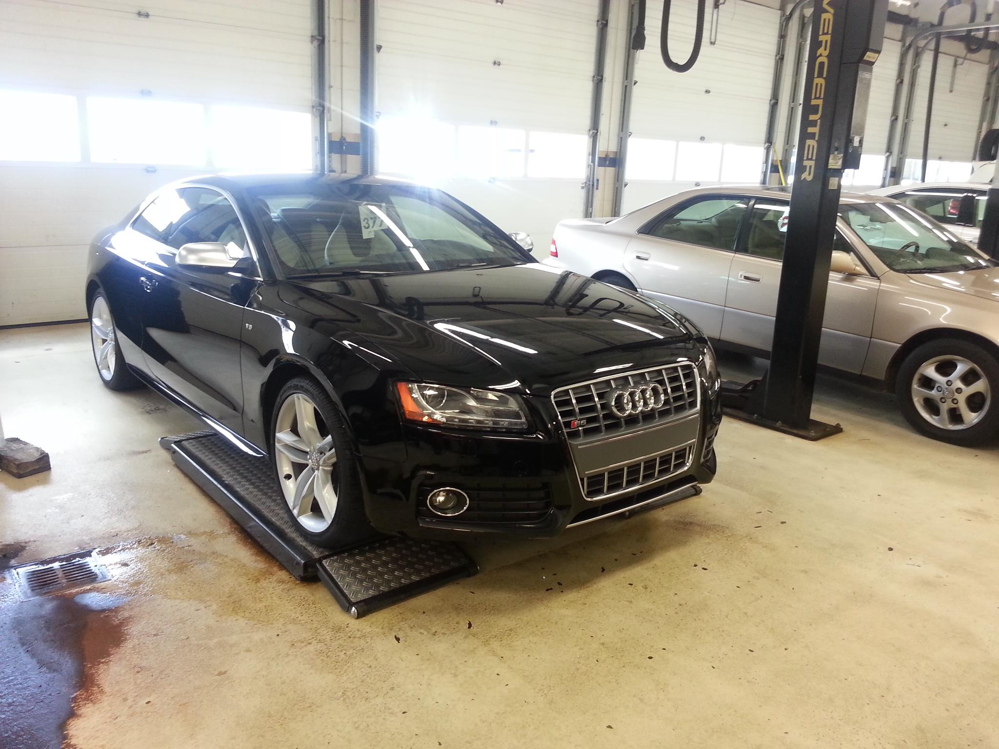 Audi S5 Protected with Clear Bra