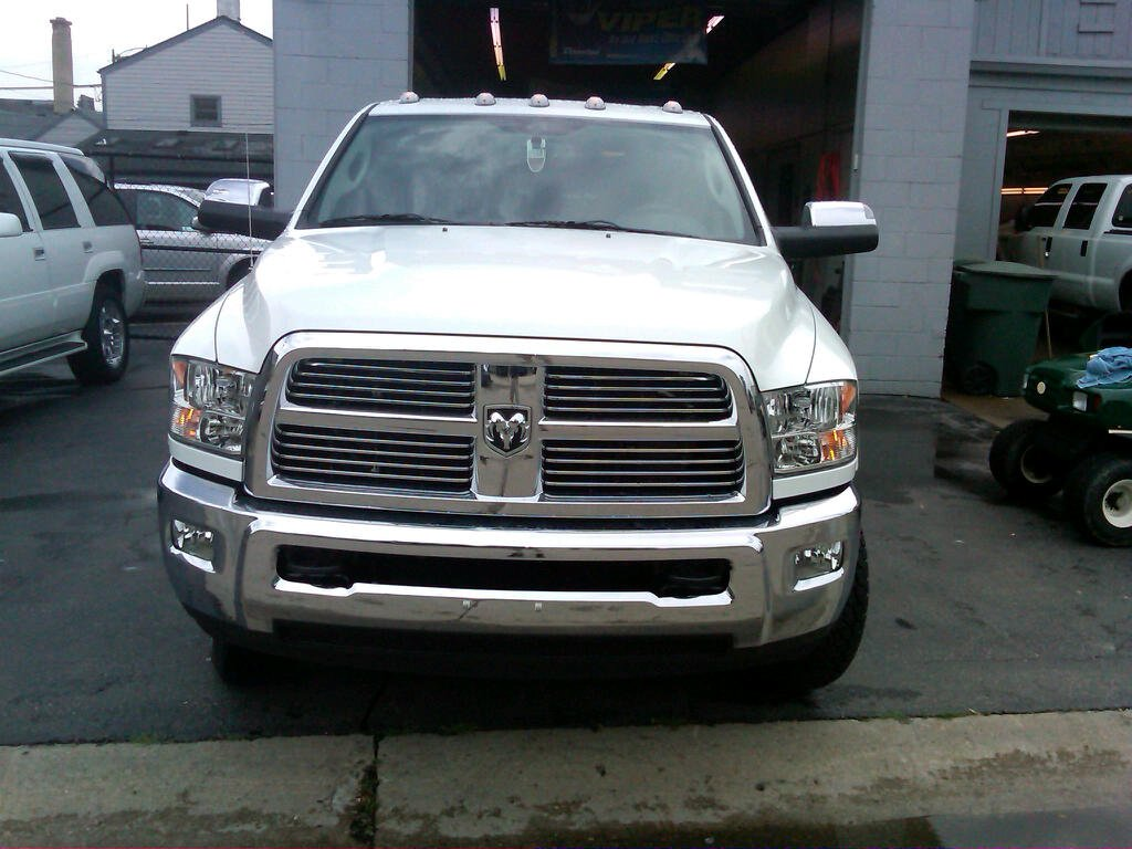 Dodge Ram Gets Paint Protection Film