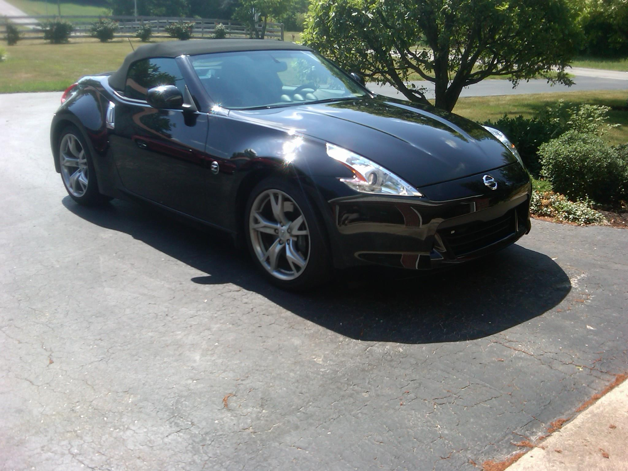 Nissan 370Z Paint Protected with Clear Bra