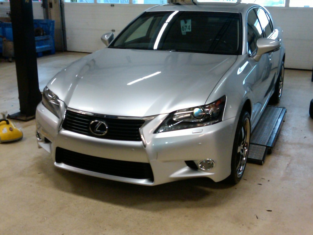 Paint on this Lexus Protected with Paint Protection Film
