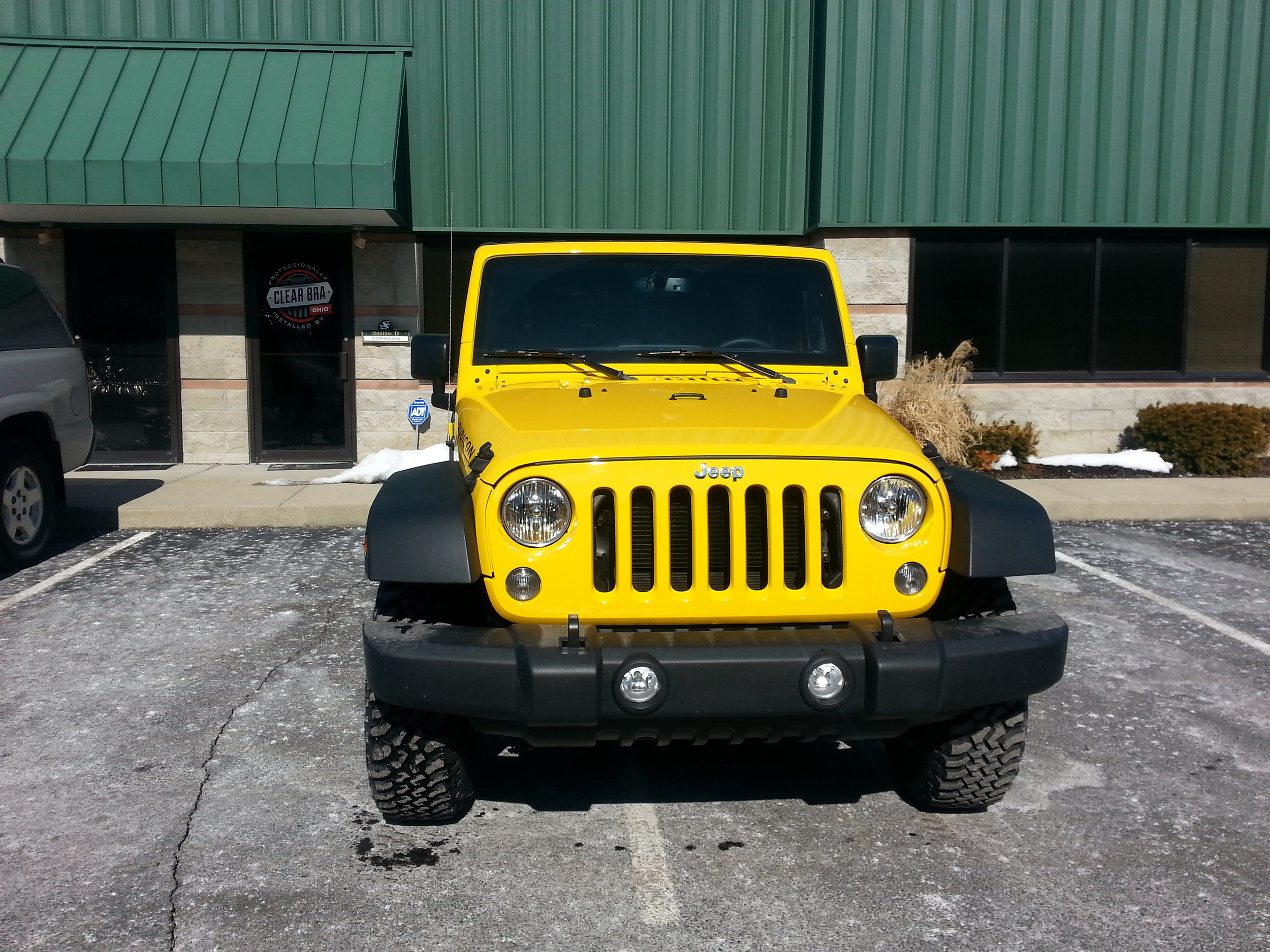 Jeep Wrangler Adds Paint Protection Film