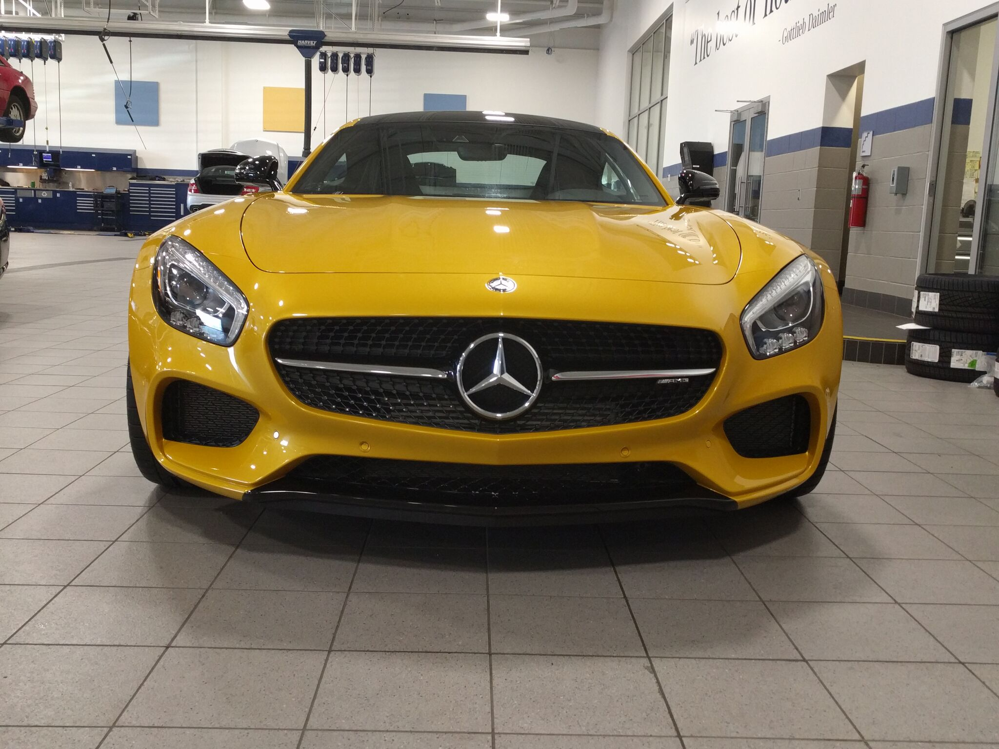 Mercedes AMG GTS gets Xpel Paint Protection