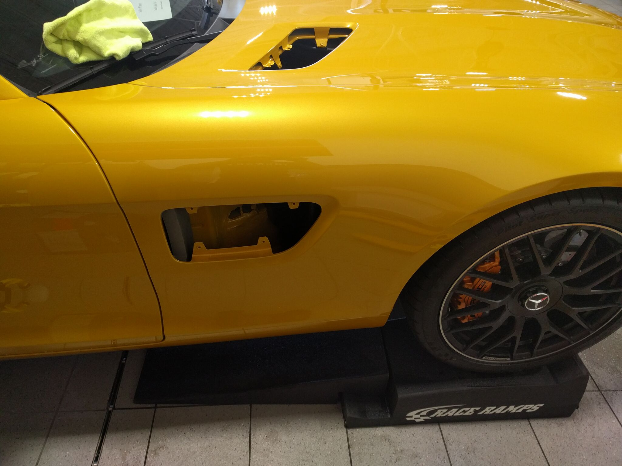 Mercedes AMG GTS gets Xpel paint protection 2
