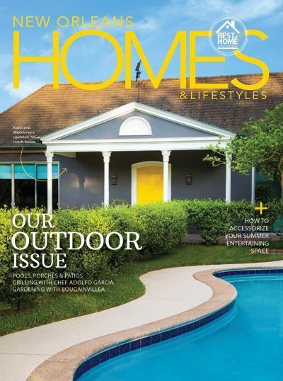 Photo courtesy of New Orleans Home & Lifestyles magazine by Jeffrey Johnston.