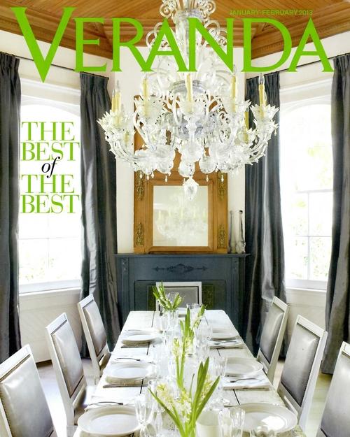 Photos courtesy of Veranda Magazine by Paul Costello