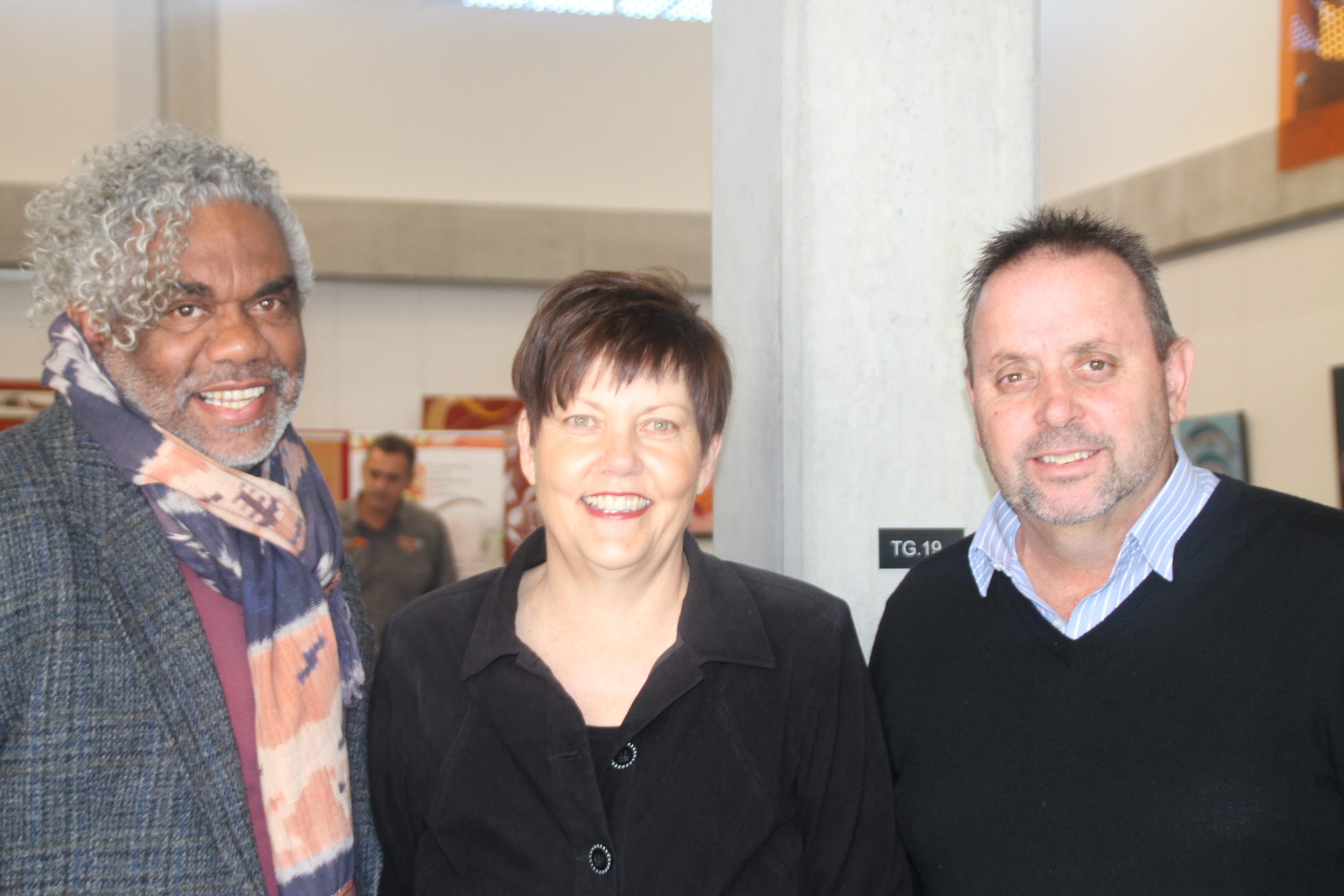 Michael Brogan, Fiona Snape and Charles Lynch at OH Launch.jpg