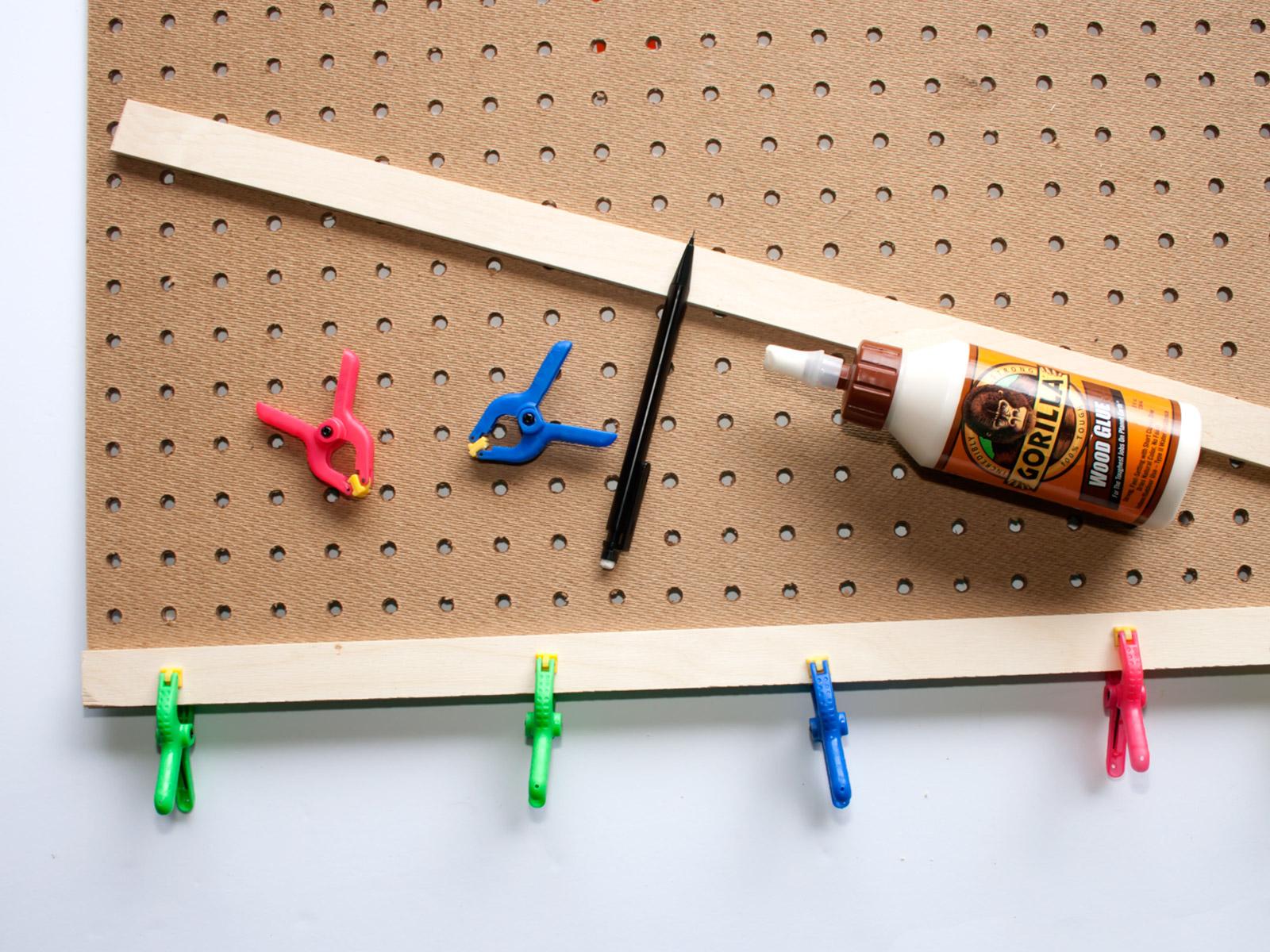 DIY Back of Door Organizer    from myonlysunshineblog