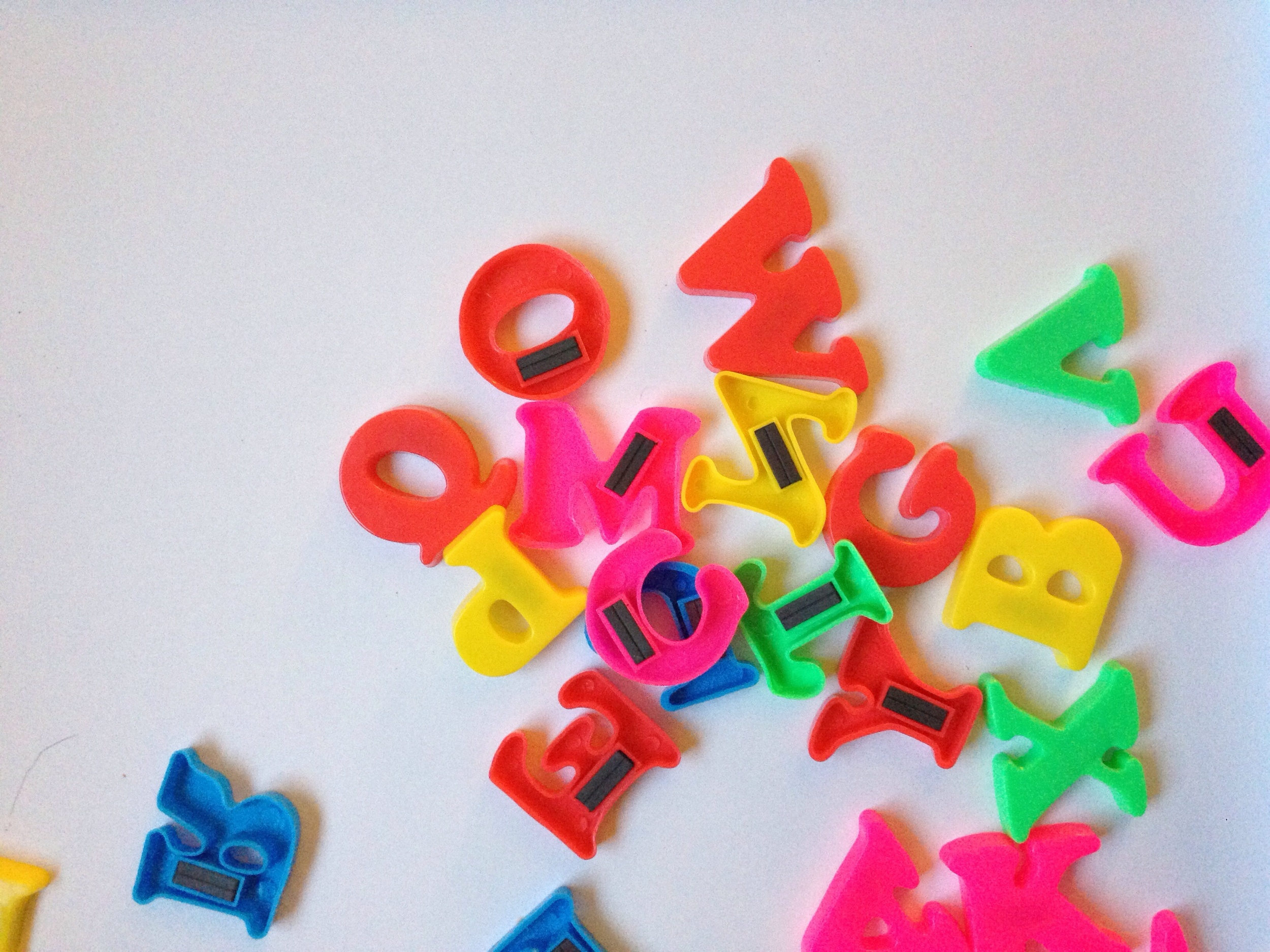 DIY Alphabet Makeover    Click through for the tutorial