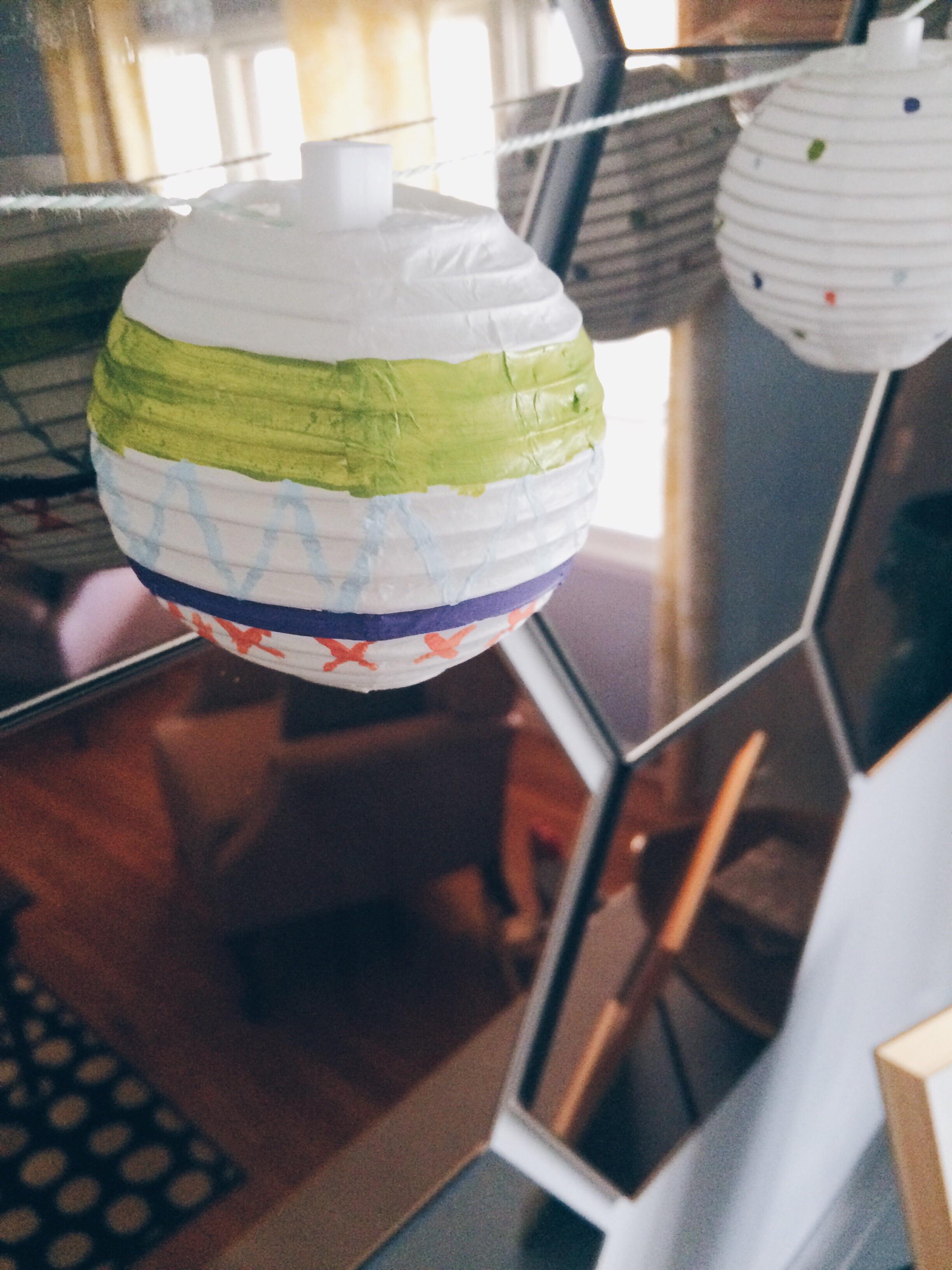 Easter Egg Lanterns. Click through for more.