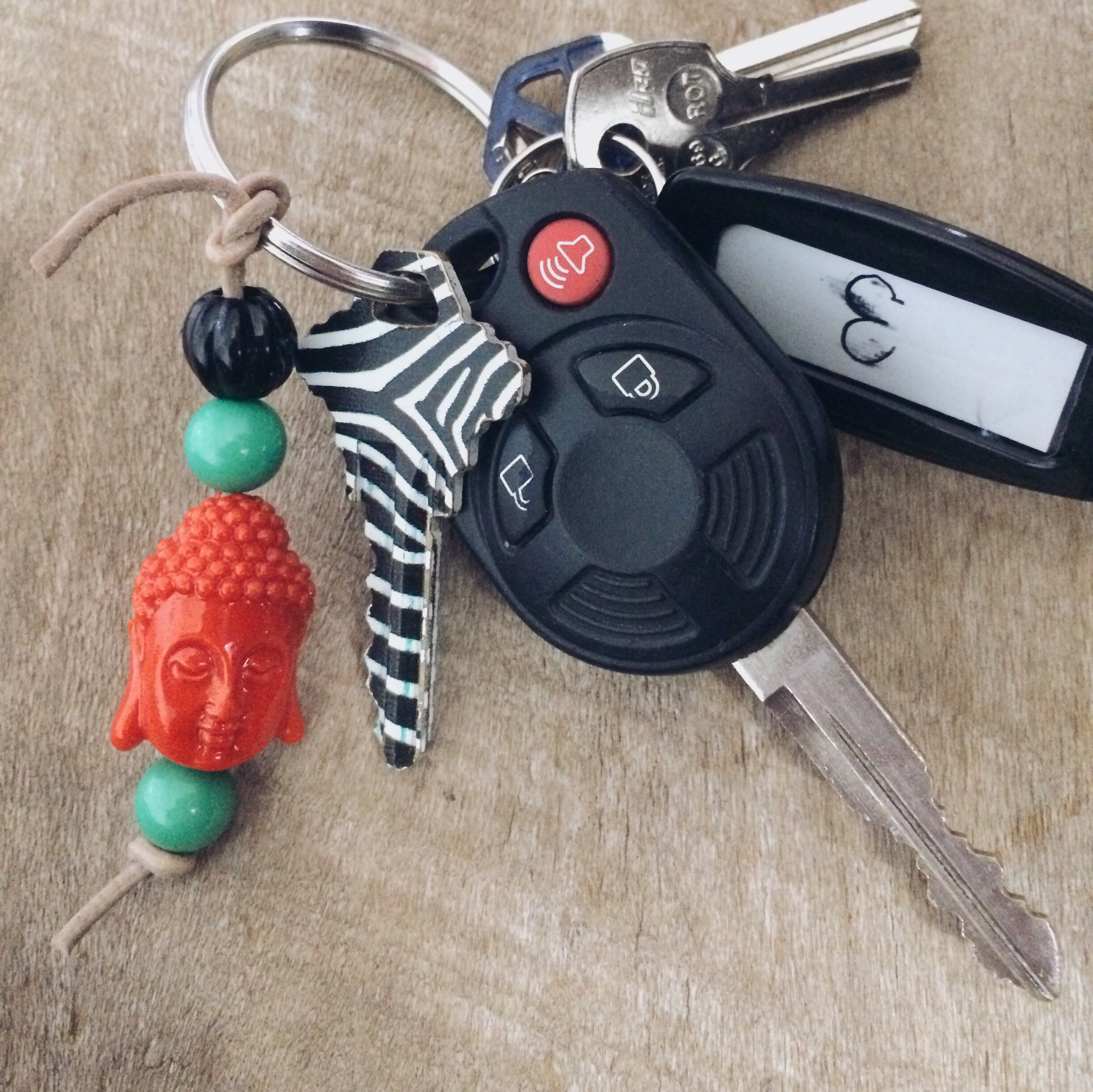 Diy Keychain. Click through for details.