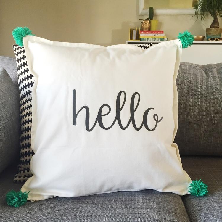 Fun DIY Throw Pillows