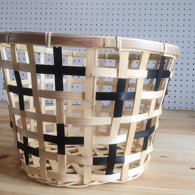 DIY Painted + Basket