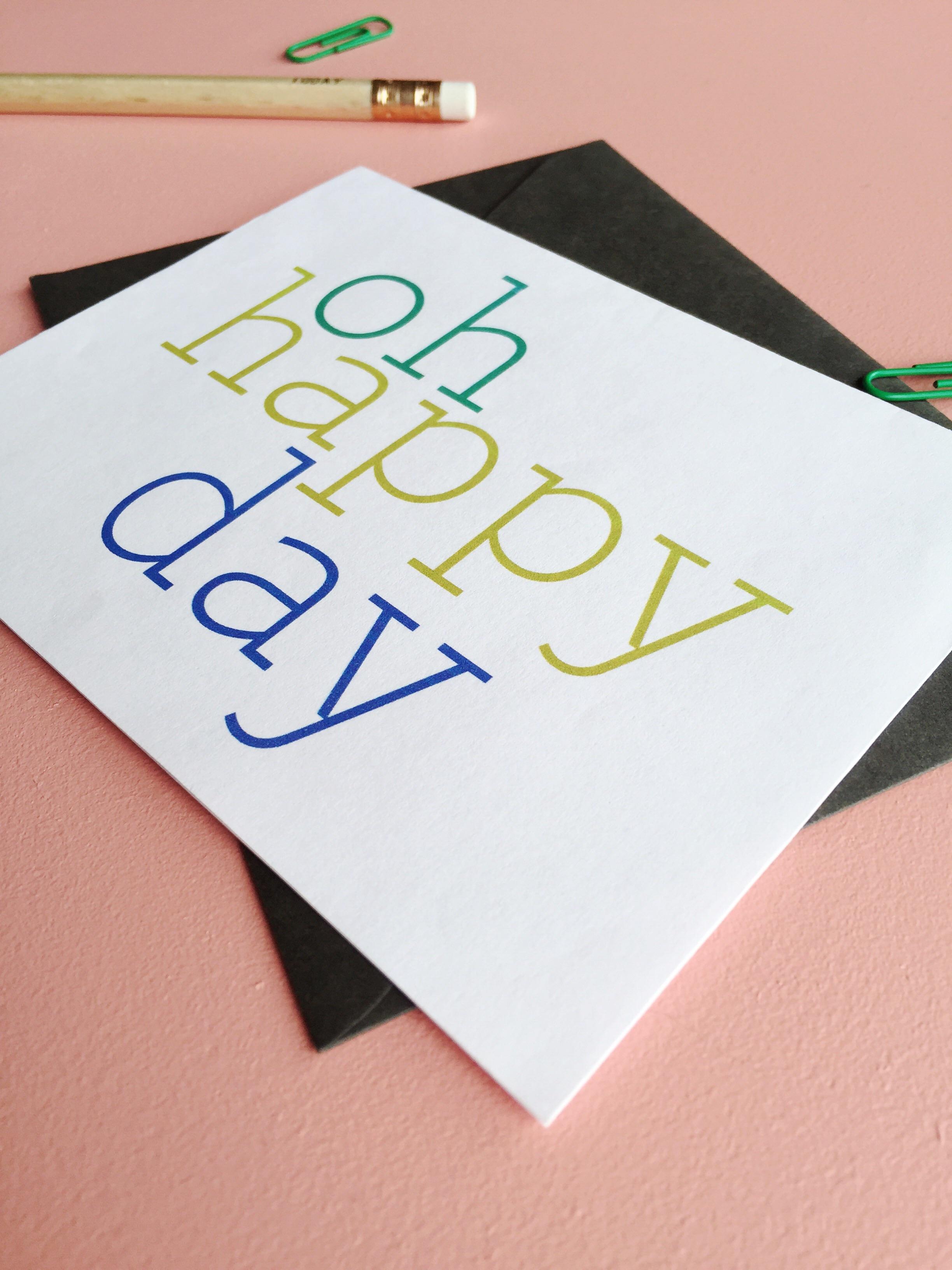 Download, print, cut, fold. Free printable card.
