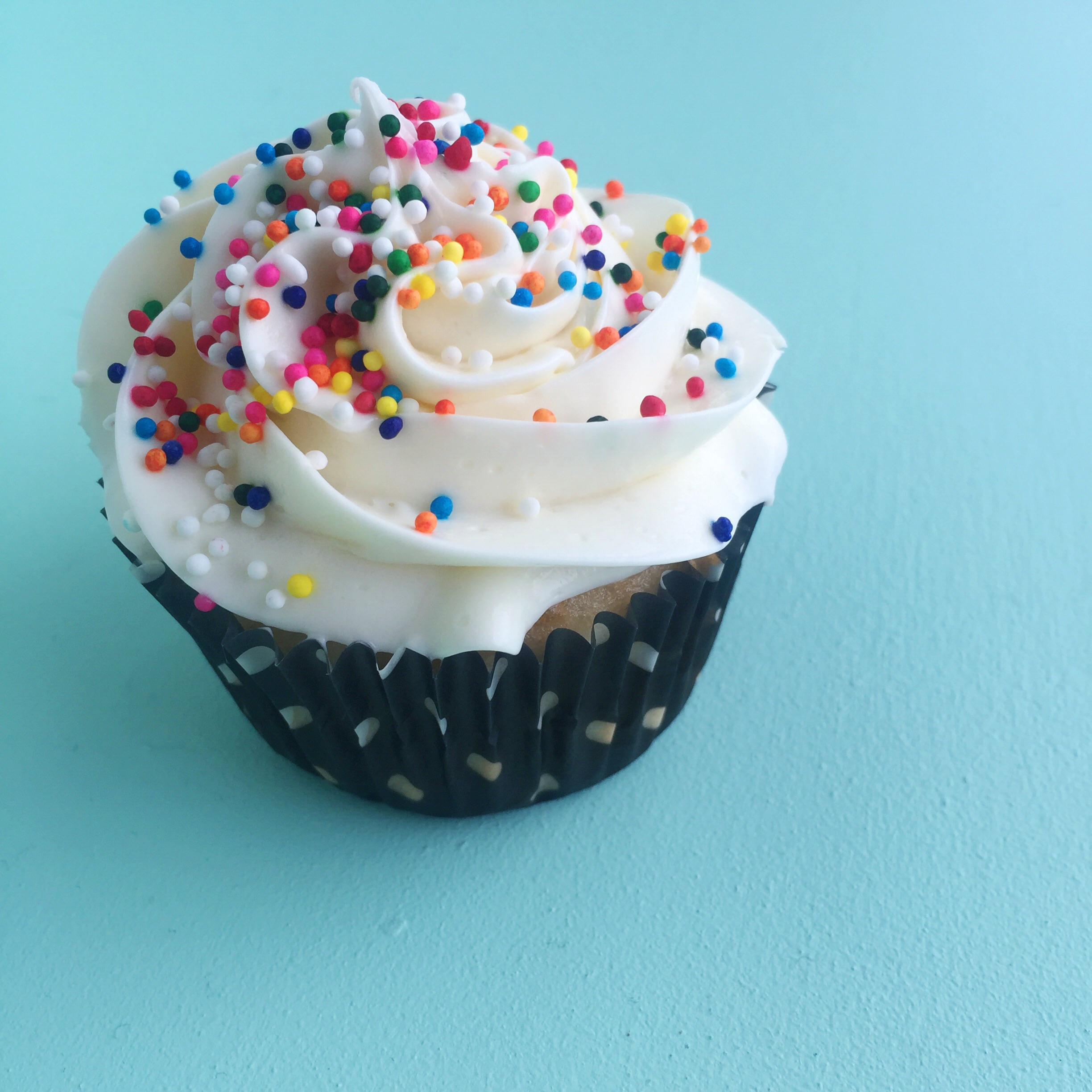 Eat more cupcakes! :) Simple cupcake recipe.