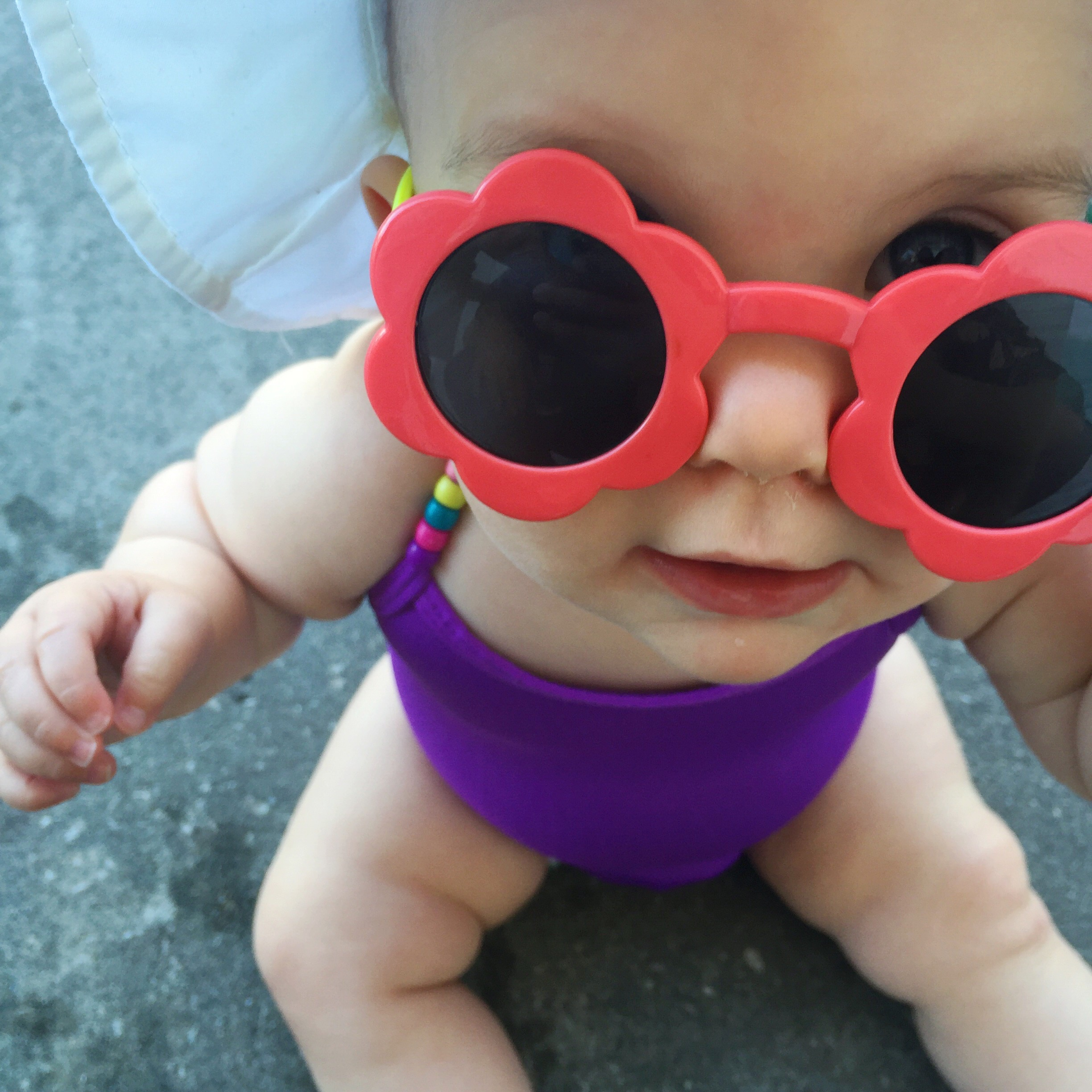 DIY Dollar Store Baby Swimsuit Revamp