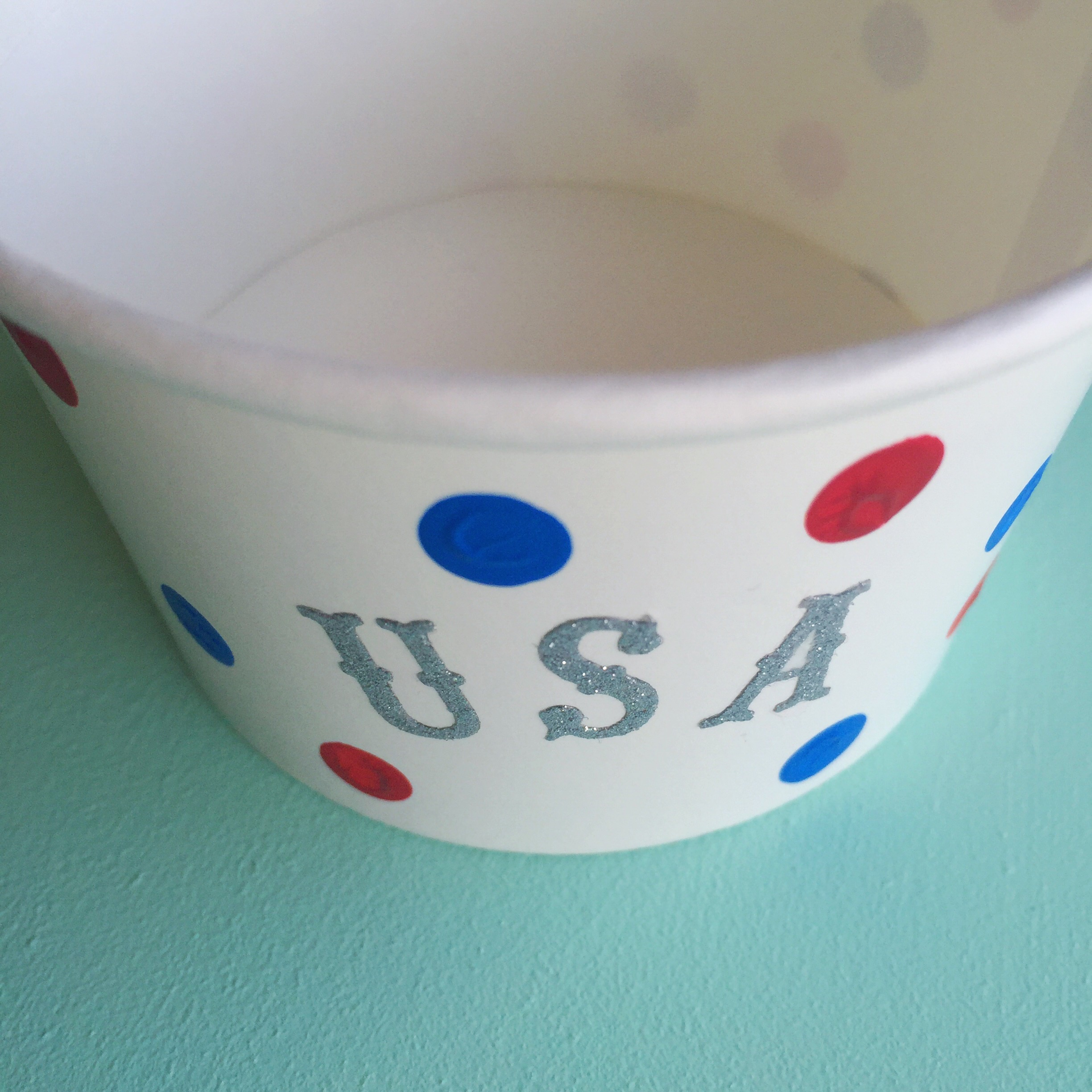 DIY Fourth of July Snack Cups